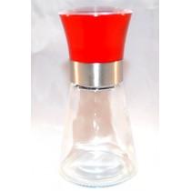 Mlýnek skleněný červený