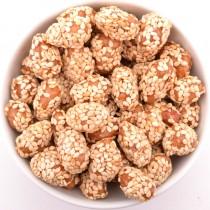 Arašídy pražené v cukru se sezamem