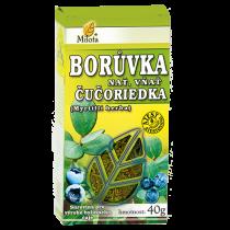 Milota Borůvka černá (brusnice) nať 40g