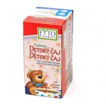 FYTO Bylinný dětský čaj pro spokojené bříško (20x1g)