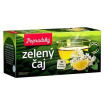 Zelený čaj bez a citron