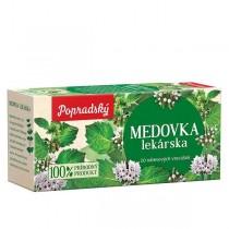 Popradský Bylinný čaj Meduňka lékařská (20x1,5g)