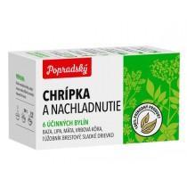 Popradský Bylinný čaj Chřipka a nachlazení (15x1,5g)