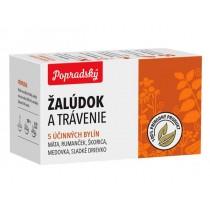 Popradský Bylinný čaj Žaludek a trávení (15x1,5g)