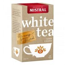 Mistral Bílý čaj Jasmín a mango (20x1g)