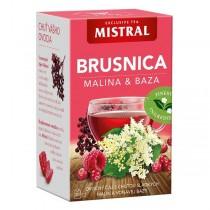 Mistral Brusinka Malina & Bez (20x2g)