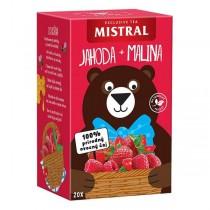 Mistral Jahoda + Malina (20x2,2g)
