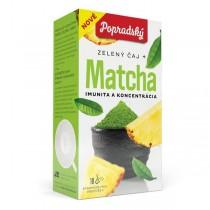Popradský Wellness Zelený čaj + Matcha (18x1,5g)