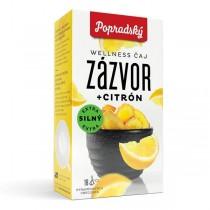 Popradský Wellness čaj Zázvor + Citron (18x2g)