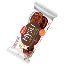 Emco Mysli Ovesné sušenky čokoládové 60 g