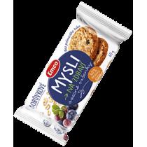 Emco Mysli Ovesné sušenky borůvkové 60 g
