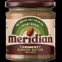 Meridian Mandlové máslo křupavé 170g