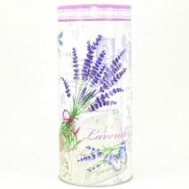 Plechová dóza kulatá Lavender