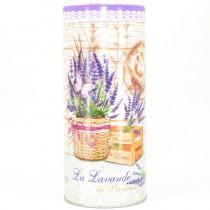 Plechová dóza kulatá La Lavande de Provence