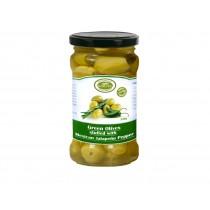 Řecké zelené olivy plněné...