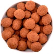Lískové ořechy v čokoládě a skořici